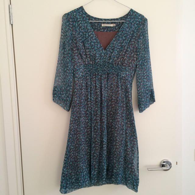 Decjuba Floral Print Dress