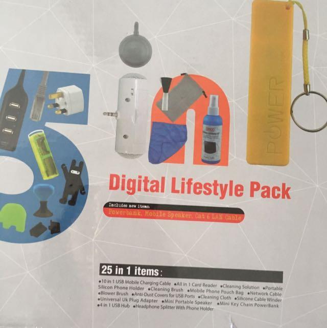 Digital Lifestyle Pack