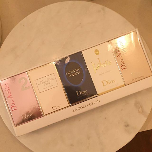 Dior Perfume Gift Travel Set