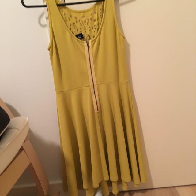 Dress- Mustard