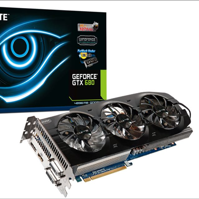 Gigabyte GTX 680 Windforce 4gb