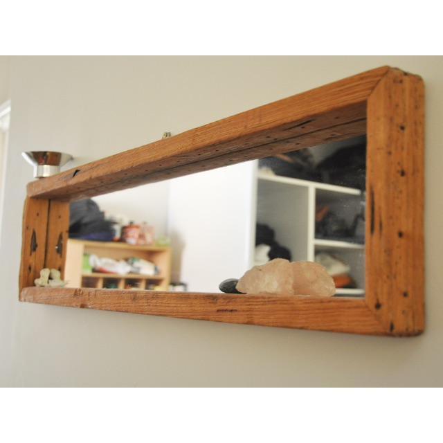 Handcrafted Oregon Timber Mirror