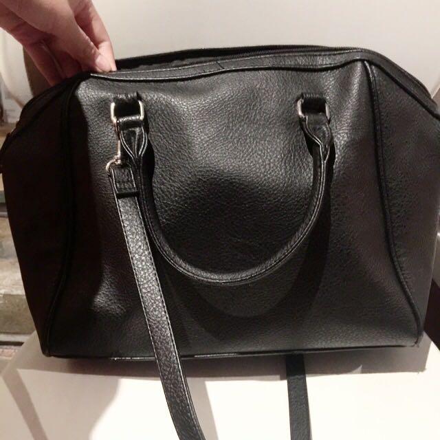 🙉H&M Black Tote Bag