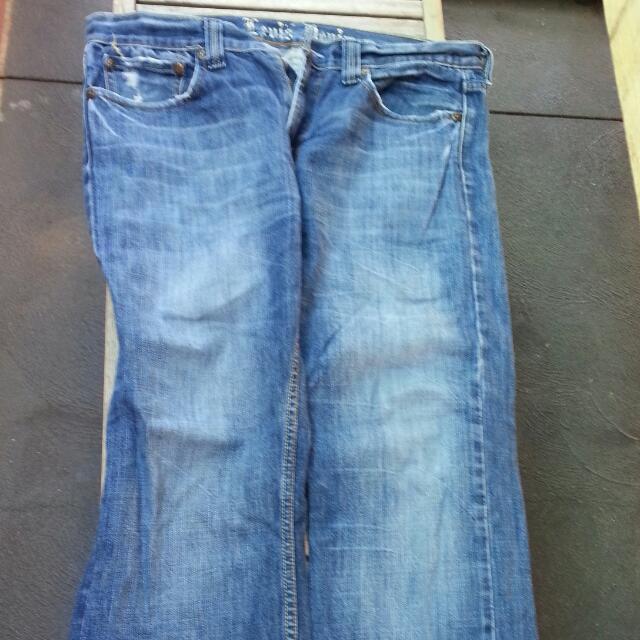 Levis 535 Size 35 L34
