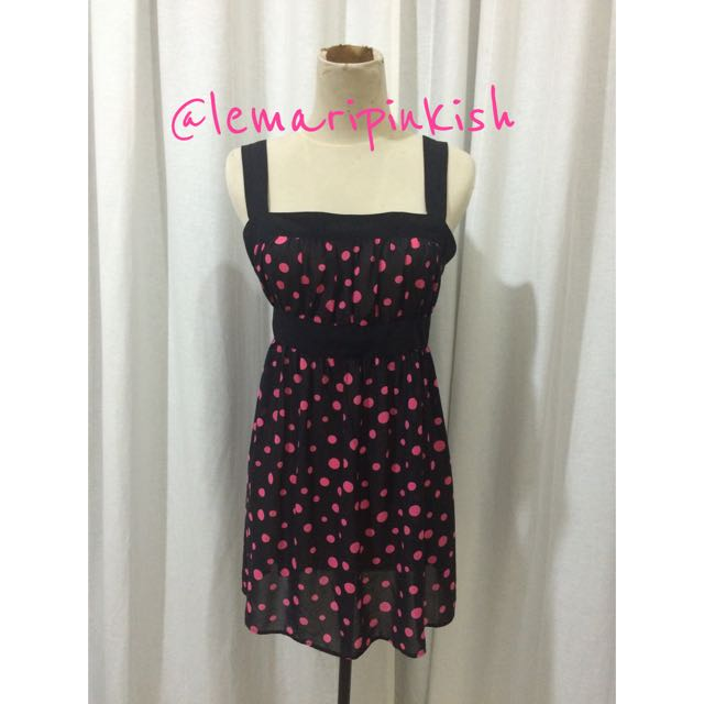 mini polka dress