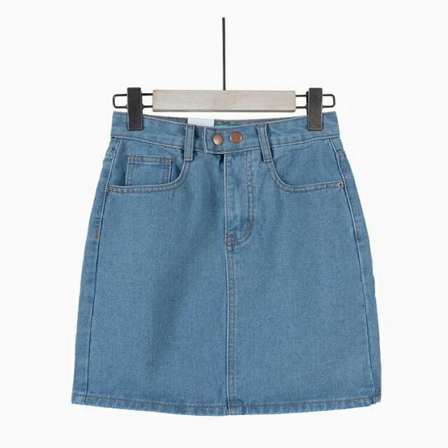 Miss Sumney Denim Skirt