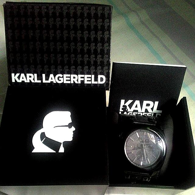 Original Watch By Karl Lagerfeld