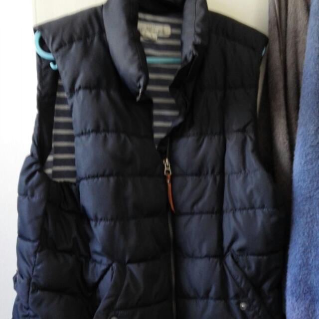 Puffer Dark Navy Vest Jacket