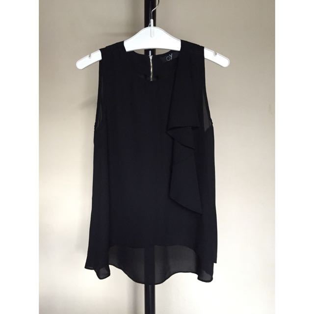 Sleeveless Top Black