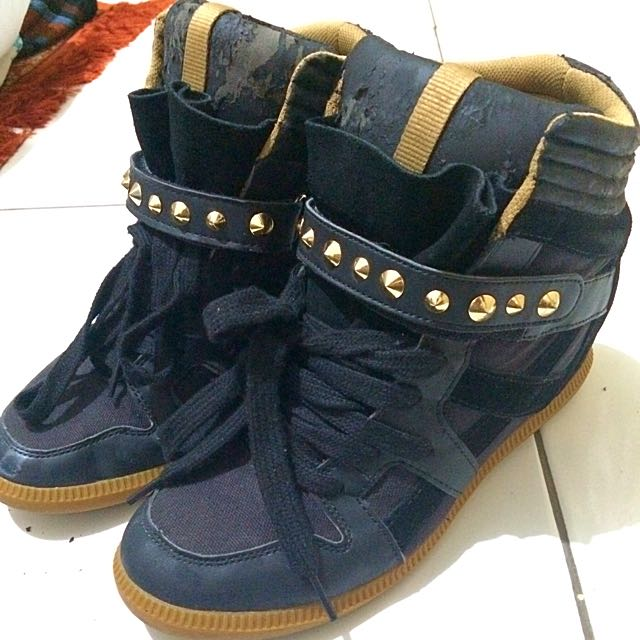 Sneakers Shoes Zara (ori) + High Hells Forever21