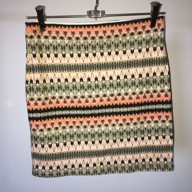 Tribal Pattern Skirt