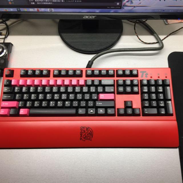 TT 青軸鍵盤 交流雷蛇 西伯利亞 鐵修羅