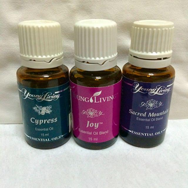 Cypress/Joy/Sacred Mountain Essential Oils