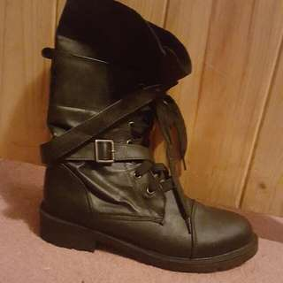 Female Combat Boots