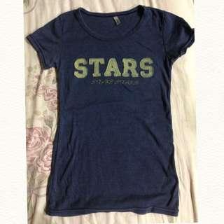 Stars 復古t