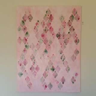 Morrocan Collage Art by Anna Mulcahy  RRP $1200.00