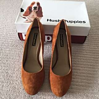 Hush Puppies Suede Heels