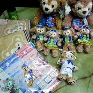 (現貨)東京海洋迪士尼15週年達菲熊娃娃