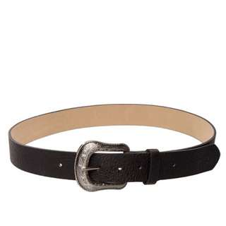 Black hard wire Belt