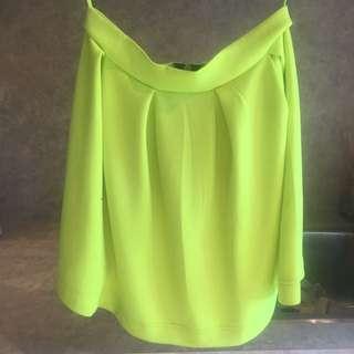 Fluoro Jersey Skirt
