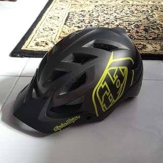 Troy Lee Designs A1 Helmet - Drone Yellow 2015
