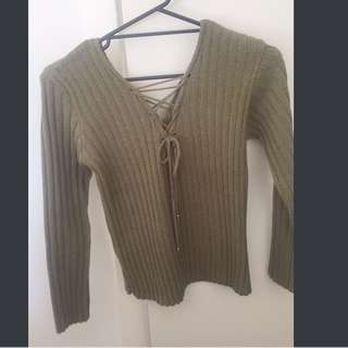 Lace Knitted Jumper