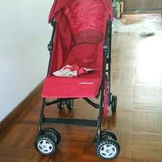 New Mothercare Nanu Red Stroller For 90
