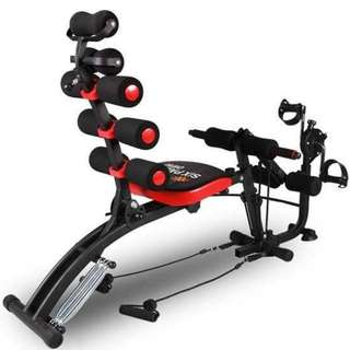 PROMO!! J Toner With Bike Gym Fitness Six Pack Bike