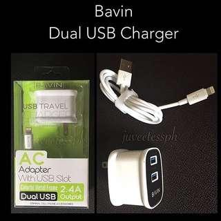 Bavin Dual USB Charger