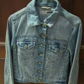 Turun Harga!! Jaket Jeans Topshop