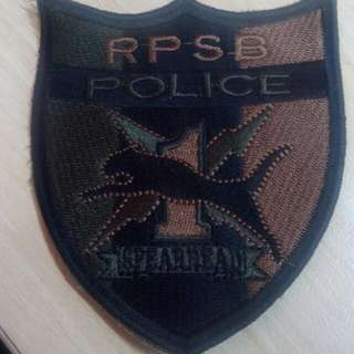 Rpsp  Police Patch