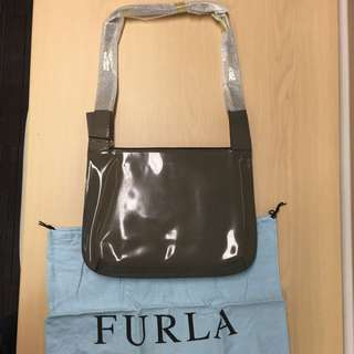 Brand New Authentic Furla Leather Shoulder Bag