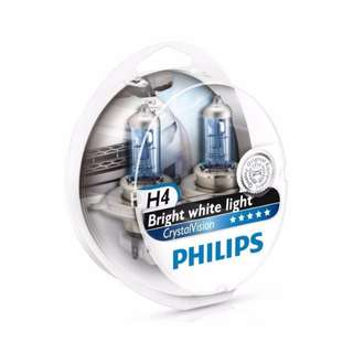 Philips Crystal Vision Globes