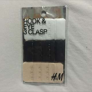 H&M Hook And Eye 3 Clasp, Bra Extender