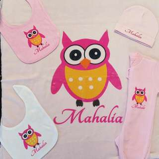Personalised Baby Pack
