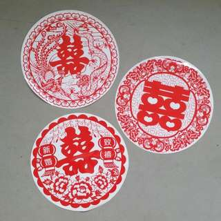 3-in-1 Wedding Stickers