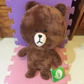 正版LINE熊大娃娃