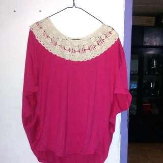 Baju Kalong Pink