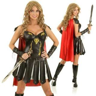 🌟Dress Up Warrior Costume - Size Small - Theme Party
