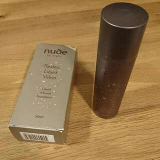 New Nude By Nature Liquid Mineral Foundation 50ml