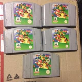 Nintendo 64 - Super Mario