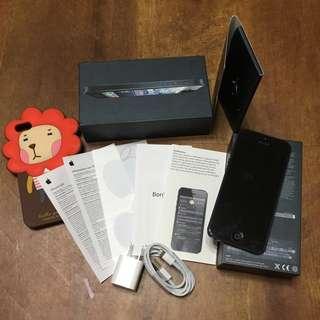 I Phone 5黑16G