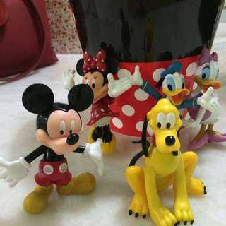 Mickey Clubhouse Cake Figurines