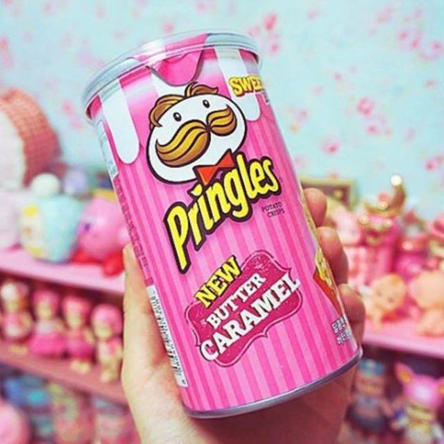 韓國限定「焦糖奶油口味」品客