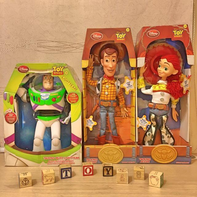 第一代玩具總動員巴斯光年胡迪翠絲公仔
