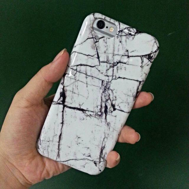 大理石 軟殼 iPhone 6/6s 4.7