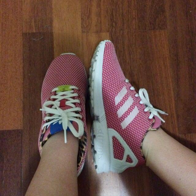 Adidas ZX Flux Pink & Leopard