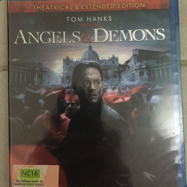 Angels & Demons Blu Ray