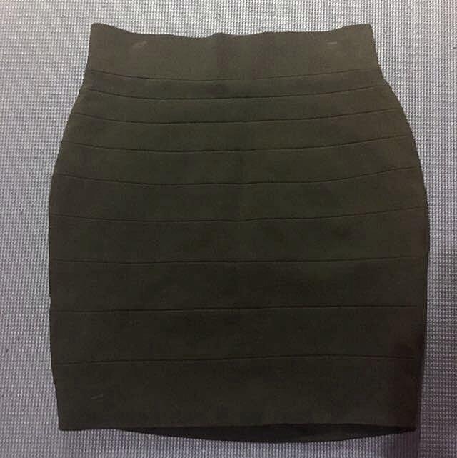 Black Mini Skirt - Forever New
