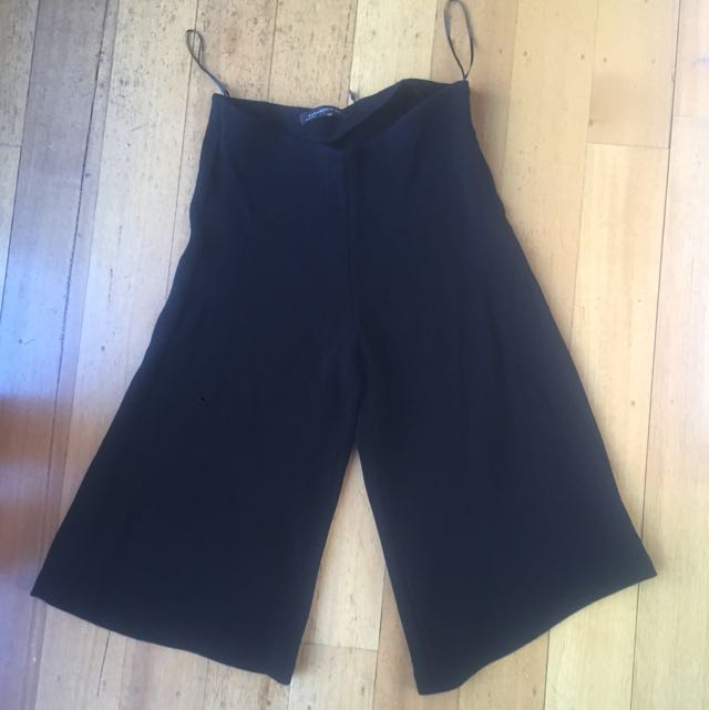 Black Zara Woman Culottes